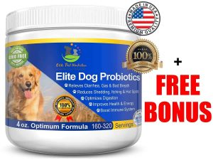 Elite Probiotics Supplement for Dogs